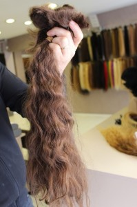 Gerçek saç postiş